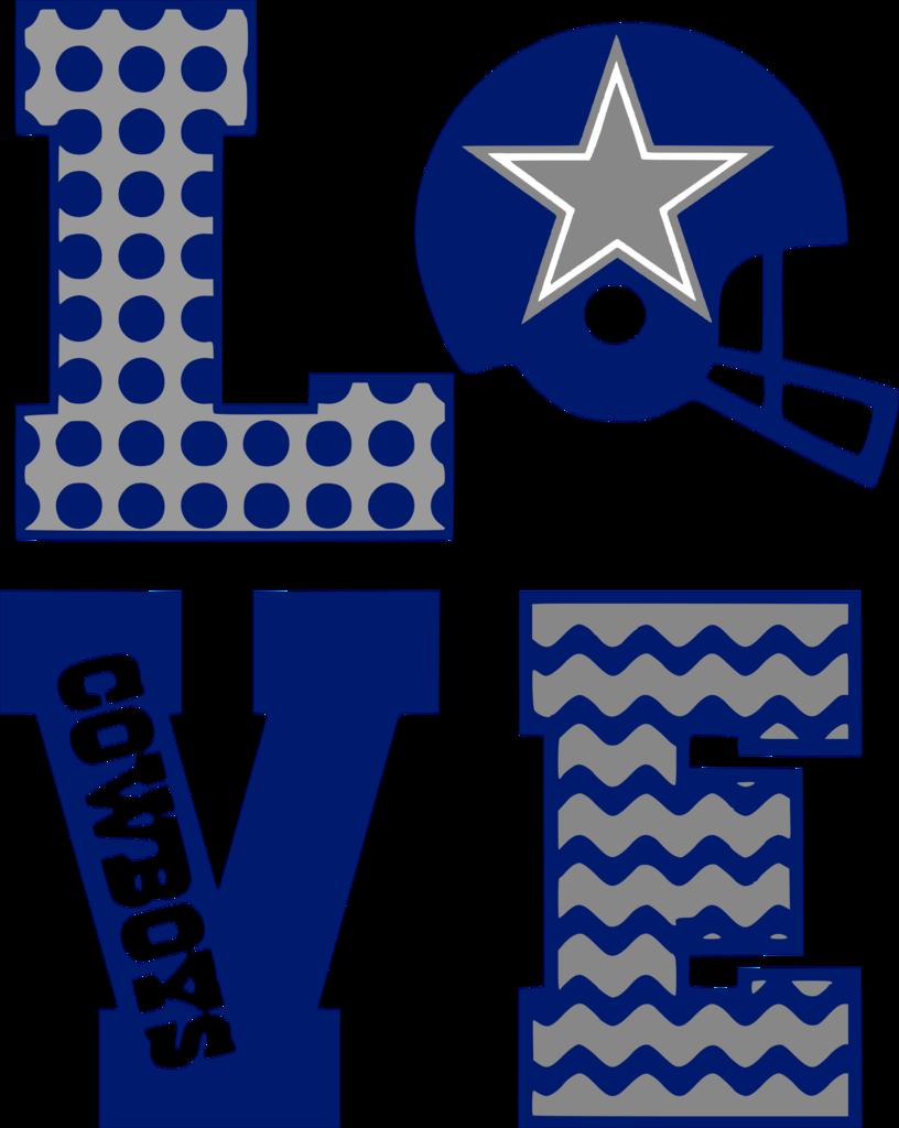 Dallas cowboy football clipart image download Dallas Cowboys Love – Albb Blanks image download