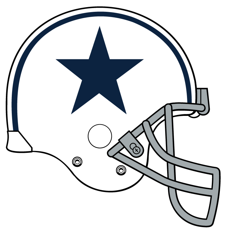 Dallas cowboy star clipart clip black and white download 28+ Collection of Dallas Cowboys Helmet Clipart | High quality, free ... clip black and white download