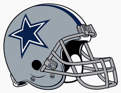 Dallas cowboys clipart helmet