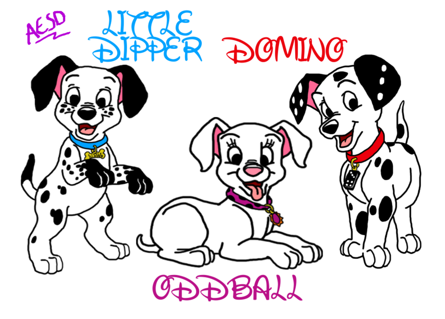 Dalmatian fire dog clipart jpg royalty free download 102+Dalmatians+by+AESD.deviantart.com+on+@deviantART | Disney ... jpg royalty free download