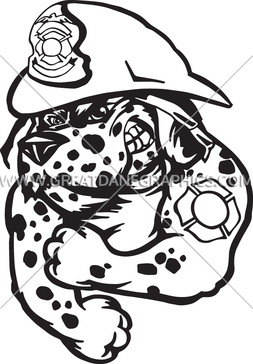 Dalmatian fire dog clipart png freeuse Fire Dalmatian | Production Ready Artwork for T-Shirt Printing png freeuse