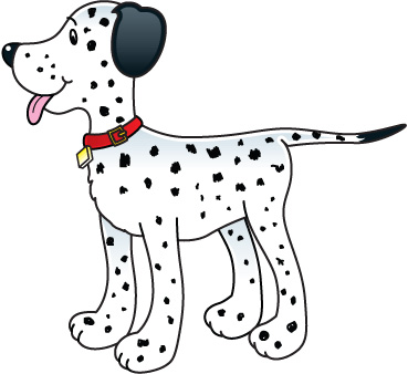 Dalmation clipart vector library library Dalmation Clipart & Look At Clip Art Images - ClipartLook vector library library