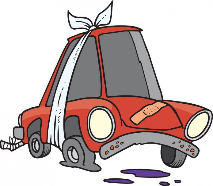 Damage car clipart graphic library stock Damaged or Inoperable Vehicles   City of Woodbine graphic library stock