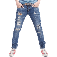 Damage jeans clipart download svg black and white library Download Jeans Free PNG photo images and clipart   FreePNGImg svg black and white library