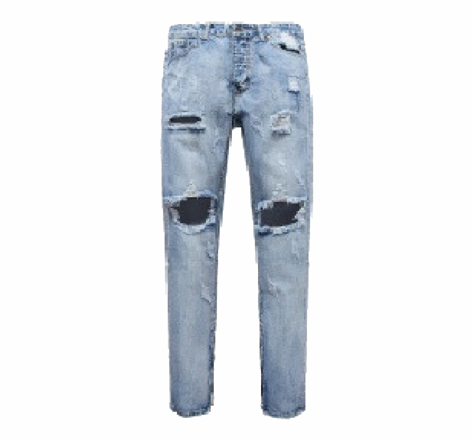 Damage jeans clipart download jpg black and white download Jeans Png, Transparent Png Download For Free #1172391 - Trzcacak jpg black and white download