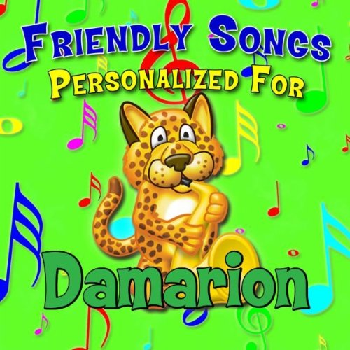 Damarion clipart clip freeuse stock Alphabet Song for Damarion by Personalized Kid Music on Amazon Music ... clip freeuse stock
