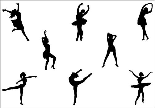 Tiny dancer silouhette clipart svg freeuse library Dancer Clipart Silhouette | Clipart Panda - Free Clipart Images svg freeuse library