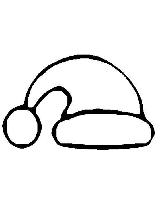 Dance line hat with draw string clipart black and white vector black and white stock Christmas Hat Drawing at PaintingValley.com | Explore collection of ... vector black and white stock