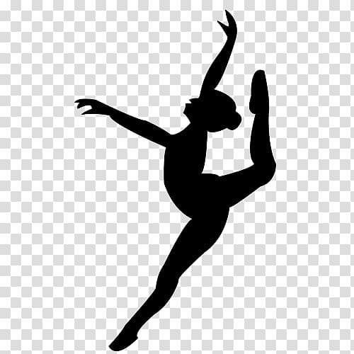 Dancer doing a leap with a tutu clipart banner freeuse library Ballerina , Ballet Dancer Silhouette Pointe technique, leap ... banner freeuse library