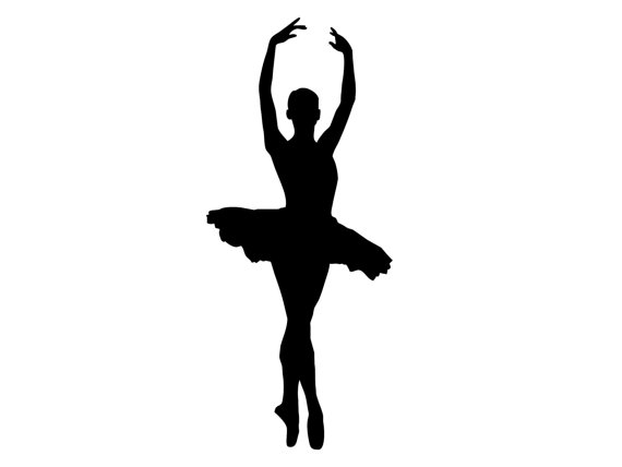 Dancer doing a leap with a tutu clipart banner freeuse download Dance Leap Silhouette | Free download best Dance Leap Silhouette on ... banner freeuse download