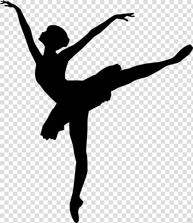 Dancer doing a leap with a tutu clipart picture transparent stock Ballet Dancer Silhouette, Silhouette transparent background PNG ... picture transparent stock