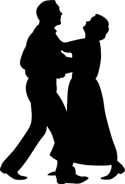 Dancing couple silhouette clipart vector free Dancing Couple clip art Free vector in Open office drawing svg ... vector free