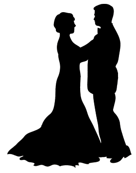 Dancing couple silhouette clipart png freeuse Dancer Silhouette png freeuse