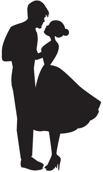Dancing couple silhouette clipart banner free stock Pin by Jainam Mehta on dance | Couple silhouette, Dancing couple ... banner free stock
