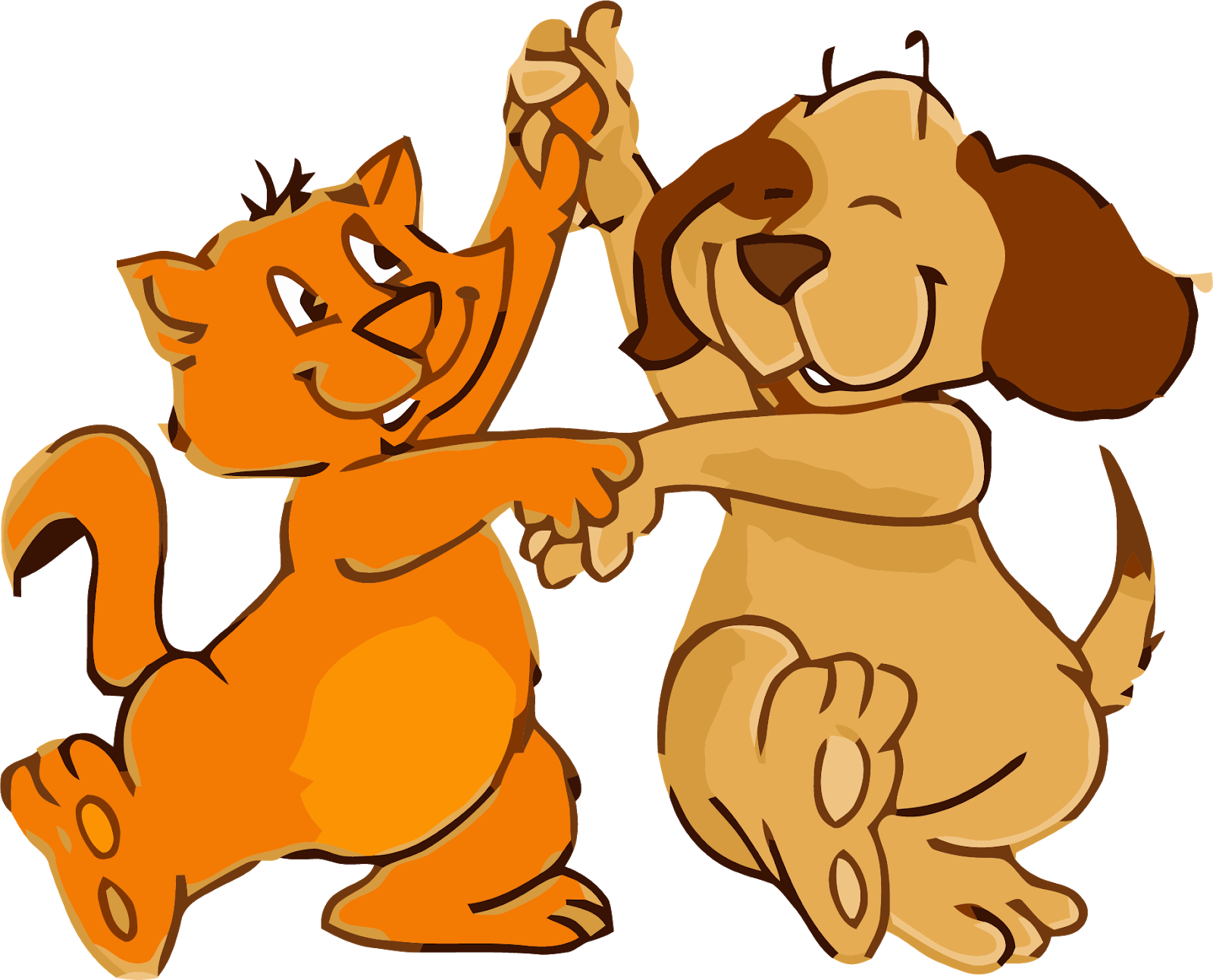 Dancing dog clipart banner transparent library Lunch Break: April 2018 banner transparent library