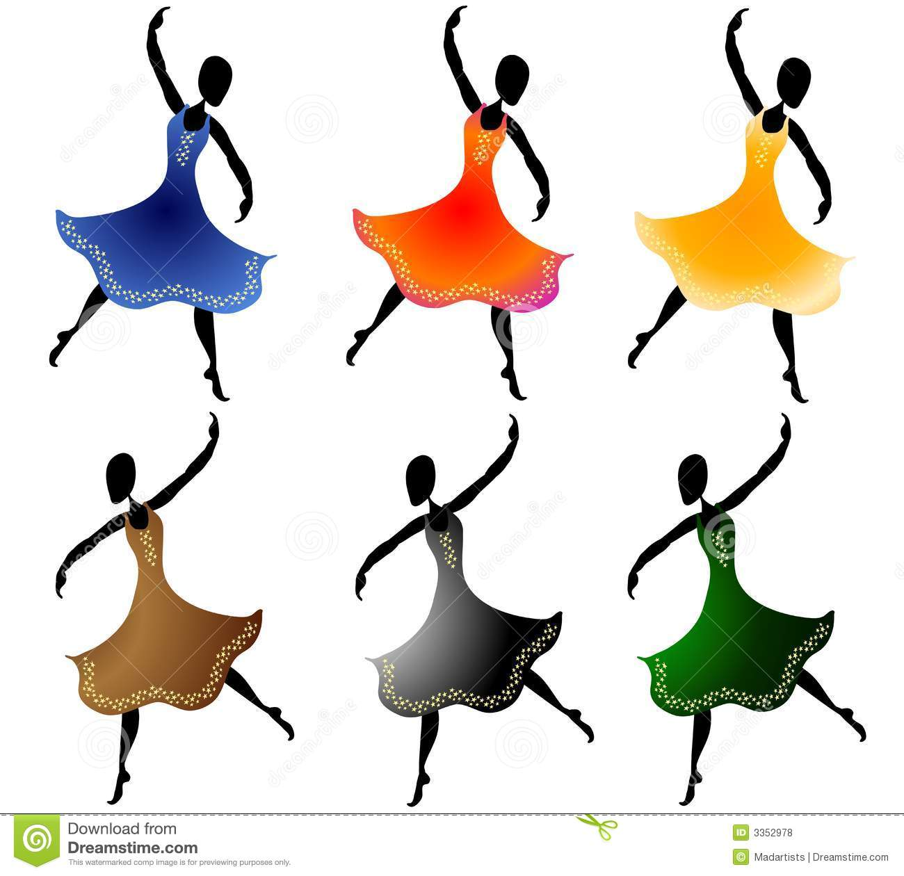 Dancing free clipart image black and white Dancing Clipart | Clipart Panda - Free Clipart Images image black and white