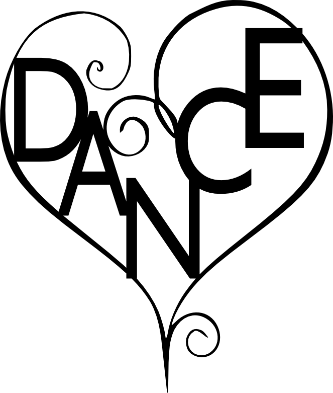 Dancing heart clipart