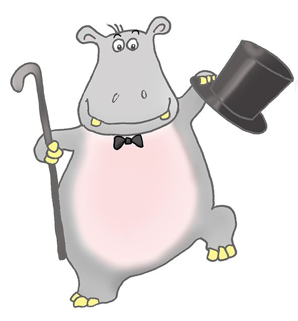 Dancing hippo clipart svg free Dancing Hippo Clipart - Clipart Kid   Hippos for a Friend\'s Passion ... svg free