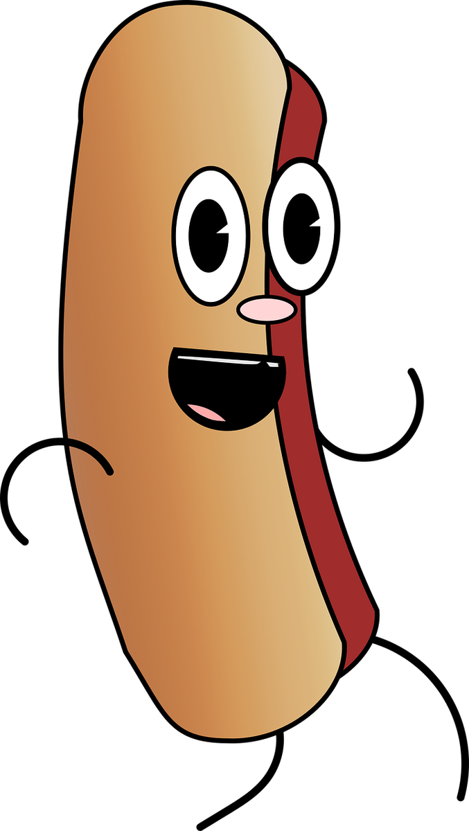 Dancing hot dog clipart jpg library download Dancing Hot Dog Clipart jpg library download