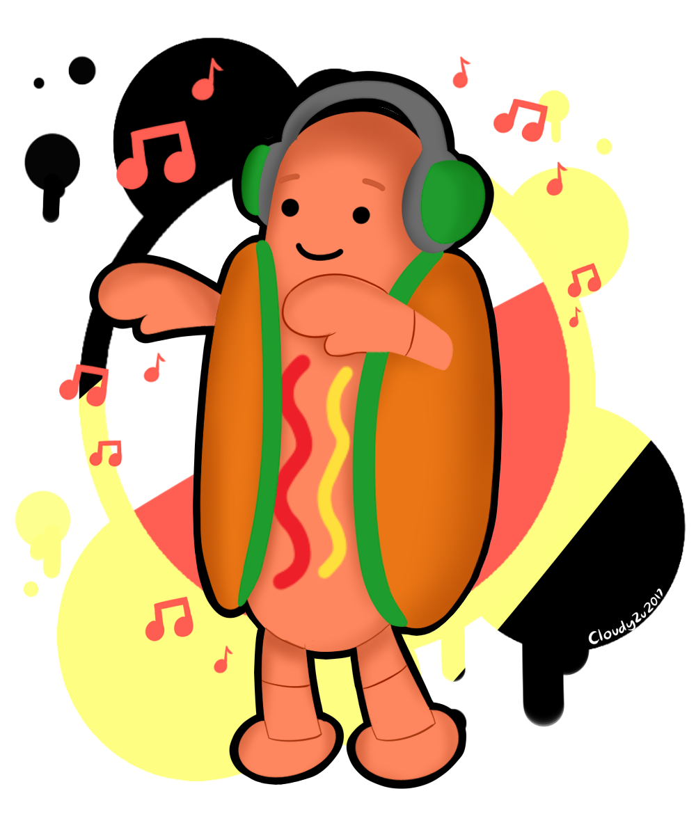Dancing hot dog clipart clip library memefanart | Explore memefanart on DeviantArt clip library