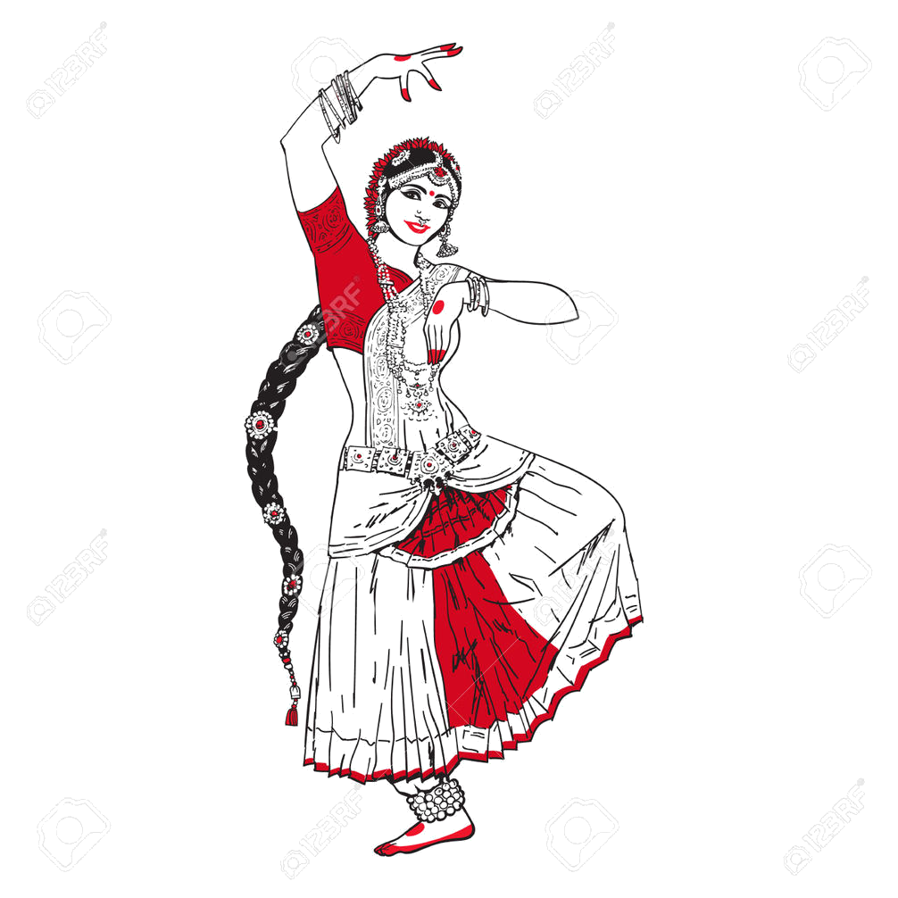 Dancing money clipart graphic transparent library Odissi dance classes online| Beginners Odissi dancing lessons ... graphic transparent library