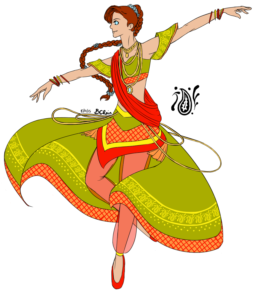 Dancing money clipart png freeuse library Open] Indian Dancer [Istil Adopt] by BC-Rain on DeviantArt png freeuse library