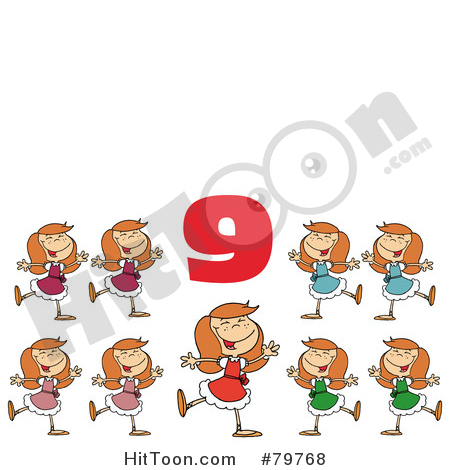 Dancing number 1 clipart clip download Dance Clipart #1 - Royalty Free Stock Illustrations & Vector Graphics clip download