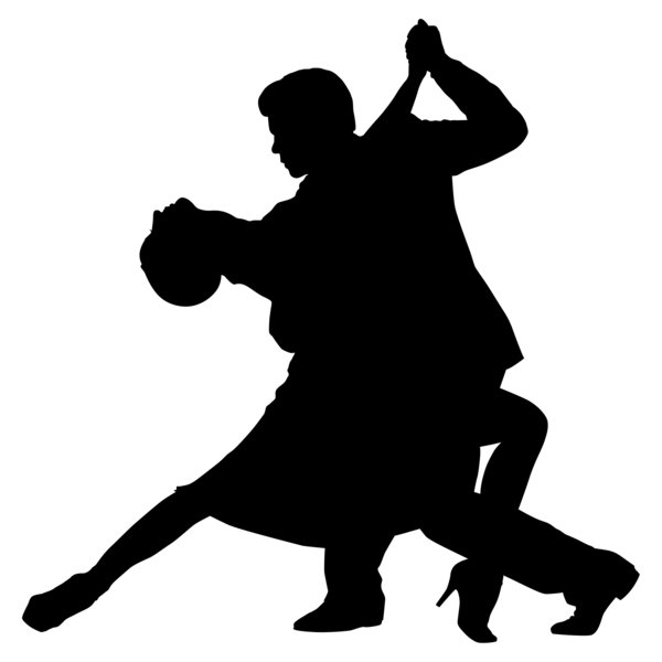 Dancing number 1 clipart jpg black and white library Tango Dance Clipart - Clipart Kid jpg black and white library
