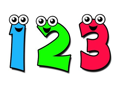 Animated numbers best . Dancing number 1 clipart