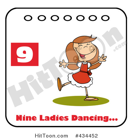 Dance royalty free stock. Dancing number 1 clipart