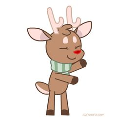 Dancing reindeer clipart banner black and white Free Dance Reindeer Cliparts, Download Free Clip Art, Free ... banner black and white