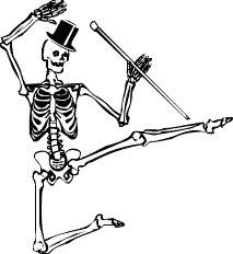 Free dancing skeleton clipart vector free library Free dancing-skeleton Clipart | Clipart Panda - Free Clipart ... vector free library