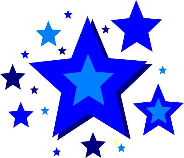 Dancing star clipart clipart black and white download Stars Clip Art at Clker.com - vector clip art online, royalty free ... clipart black and white download