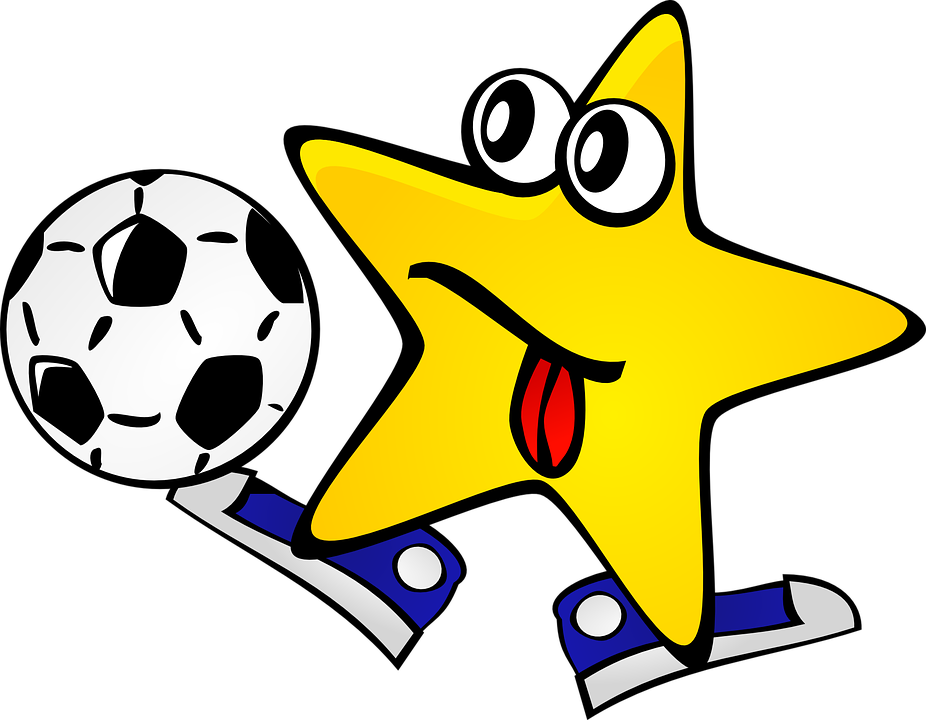 Dancing star clipart clip freeuse stock Cartoon Softball#4460499 - Shop of Clipart Library clip freeuse stock