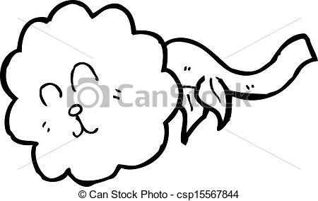 Eps vector of flower. Dandelion cartoon character clipart