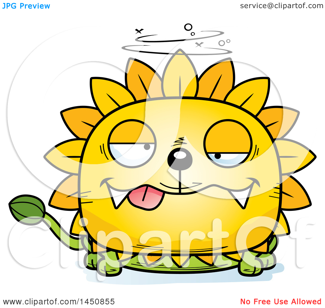 Dandelion cartoon character clipart clipart transparent library Clipart Graphic of a Cartoon Drunk Dandelion Character Mascot ... clipart transparent library