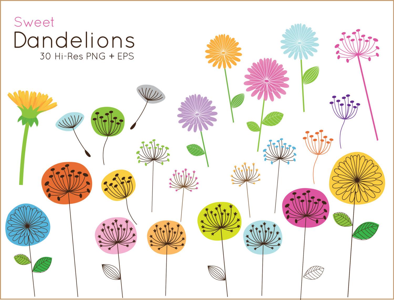 Dandelion clip art pictures clip transparent stock 20% OFF Sweet Dandelion clip art for personal and commercial clip transparent stock