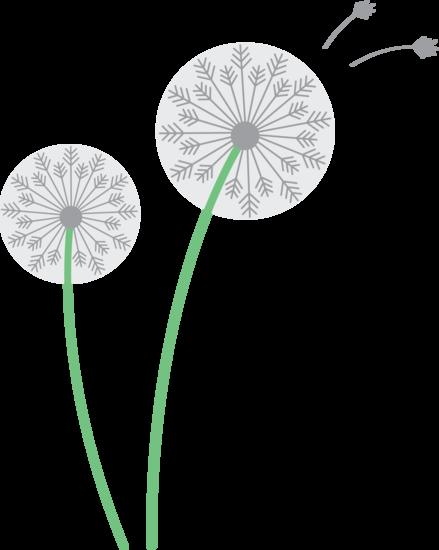 Dandelion clip art pictures svg black and white Dandelion Clip Art & Dandelion Clip Art Clip Art Images ... svg black and white