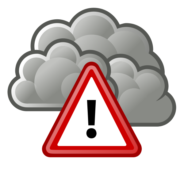 Dangerous weather clipart png black and white Stage II air pollution warning in effect for Missoula Valley ... png black and white