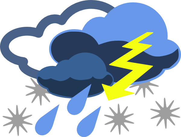 Weather cartoon clipart clip art black and white library Dangerous Weather Cliparts - Cliparts Zone clip art black and white library