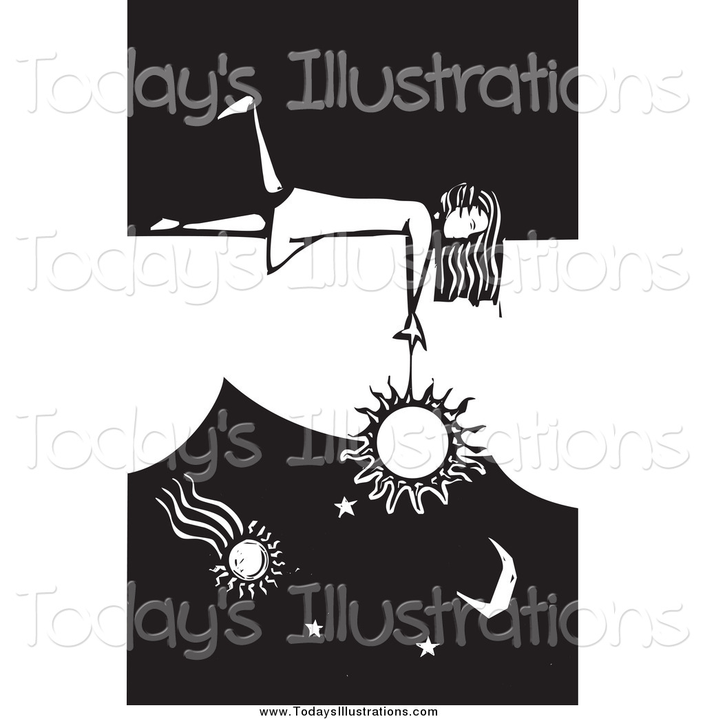 Dangling clipart clipart library library Clipart of a Girl Laying on a Wall and Dangling the Sun in ... clipart library library