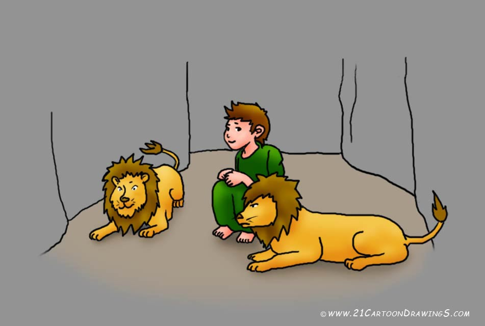 Daniel bible character clipart picture freeuse stock Daniel In The Lions Den Clipart - Clipart Kid picture freeuse stock