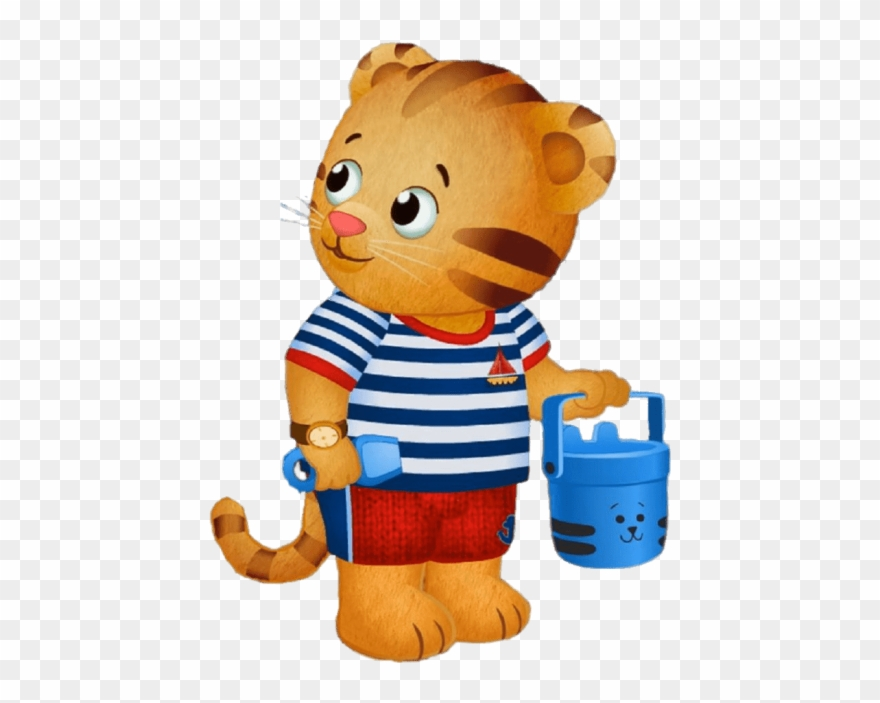 Daniel the tiger clipart jpg royalty free stock Free Png Download Daniel Tiger At The Beach Clipart ... jpg royalty free stock