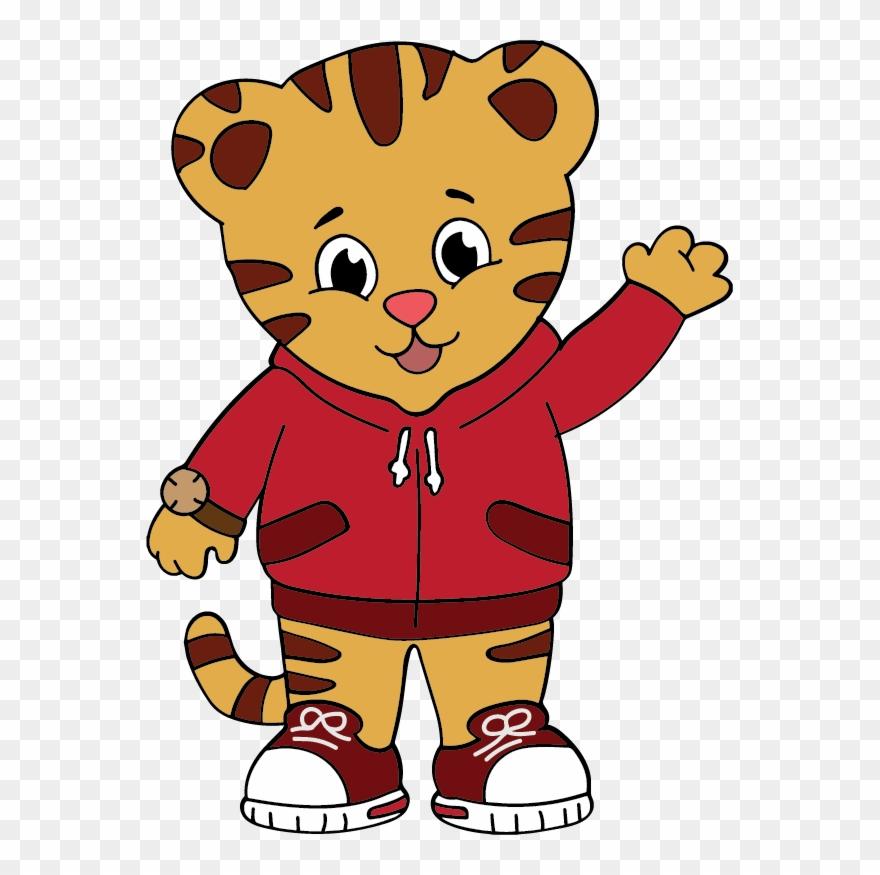 Daniel the tiger clipart clip art royalty free download Daniel Tiger Svg - Daniel Tiger Cartoon Clipart (#825606 ... clip art royalty free download