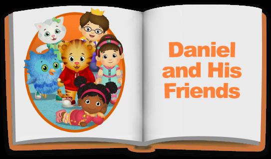 Daniel tiger friends clipart banner Stories   Daniel Tiger\'s Neighborhood   PBS KIDS banner