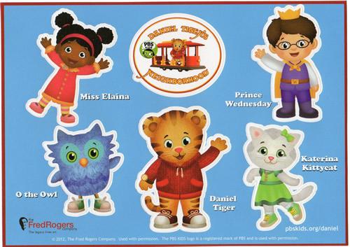 Daniel tiger friends clipart image library download Stickers: Neighborhood Friends - The Daniel Tiger\'s ... image library download
