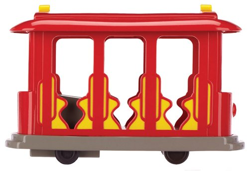 Daniel tiger trolley clipart clip freeuse Daniel Tiger\'s Neighborhood Trolley with Daniel Tiger Figure clip freeuse