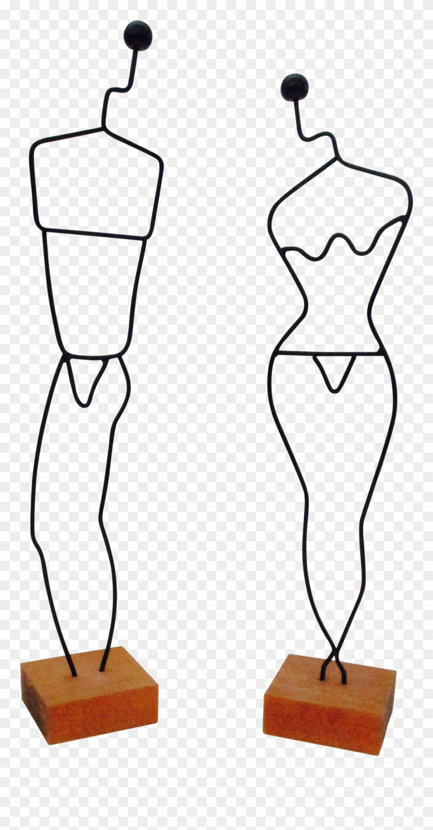 Danish modern clipart svg freeuse stock Danish Modern Wire Mannequin - Sales Clipart (#2036602) - PinClipart svg freeuse stock