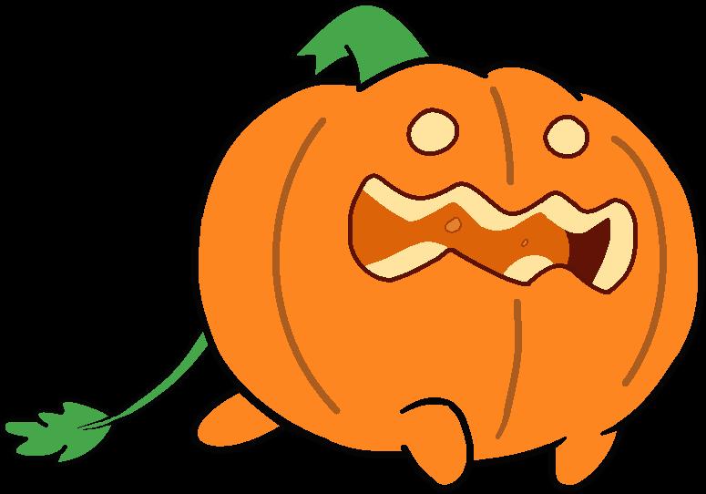 Pumpkin pilot clipart