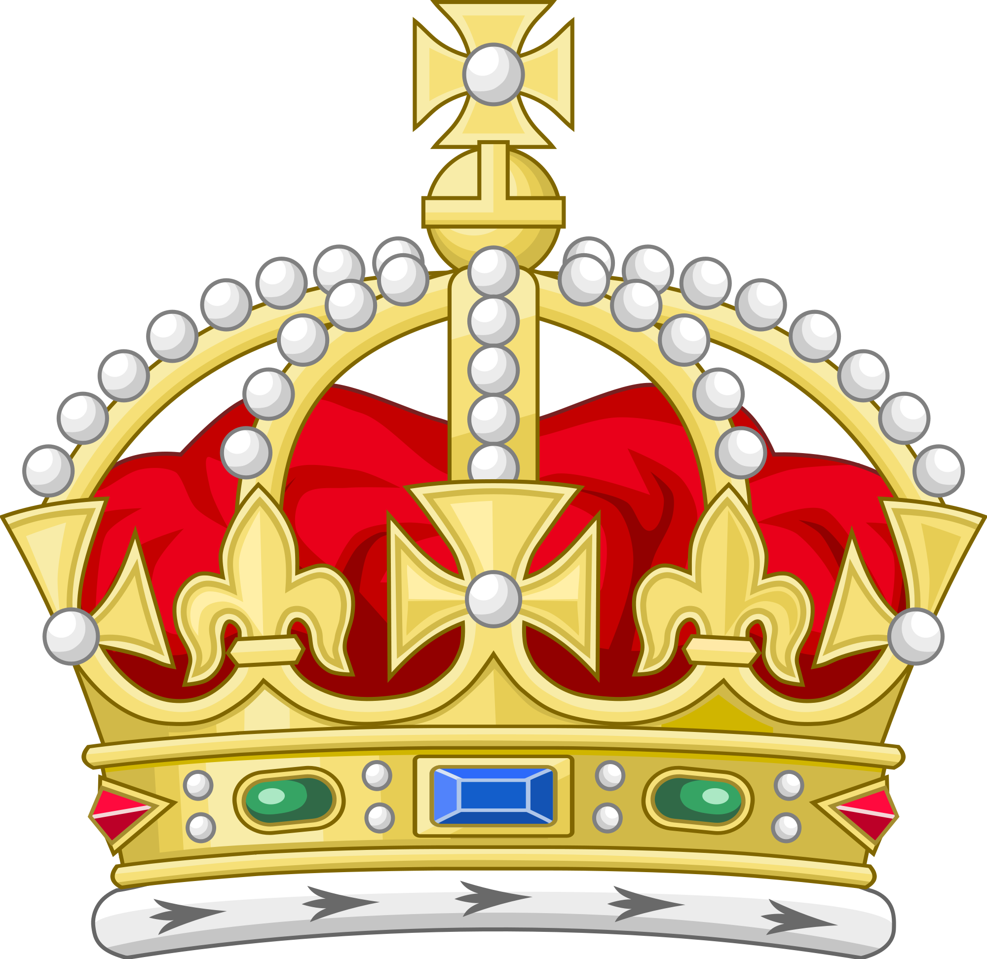 English crown clipart clip Red Crown Cliparts - Shop of Clipart Library clip